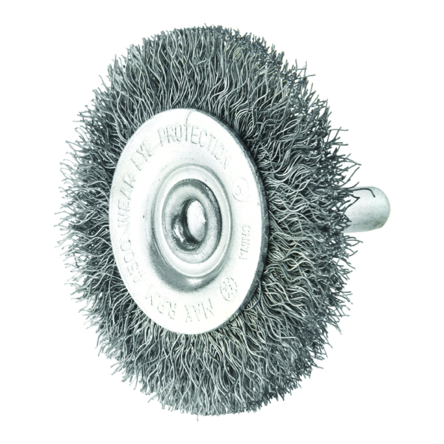 Ace 2 in. Crimped Wire Wheel Brush Steel 4500 rpm 1 pc. - Ace Hardware