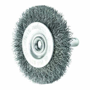 Ace  2 in. Fine  Crimped  Wire Wheel Brush  Steel  4500 rpm 1 pc.