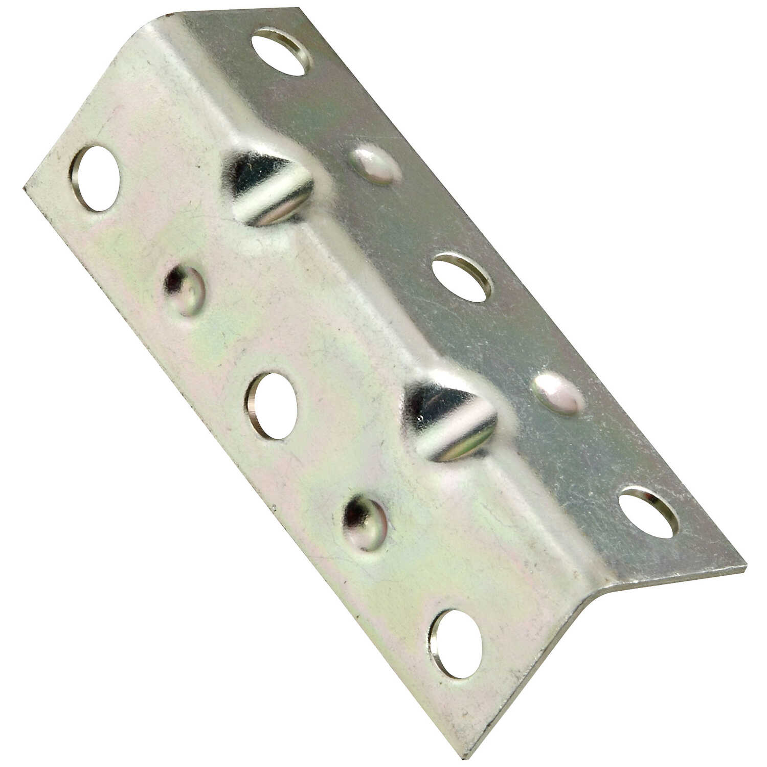 National Hardware  2-1/2 in. H x 3/4 in. W x 0.04 in. D Zinc-Plated  Steel  Inside  Corner Brace