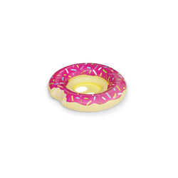 BigMouth Inc. Pink Vinyl Inflatable Donut Baby Float