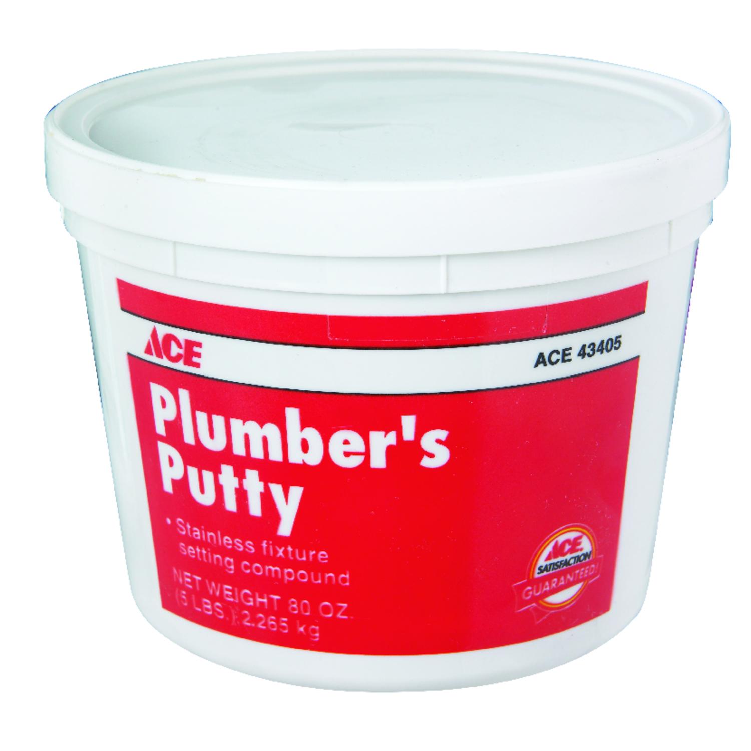 Ace  Plumbers Putty  5 lb.
