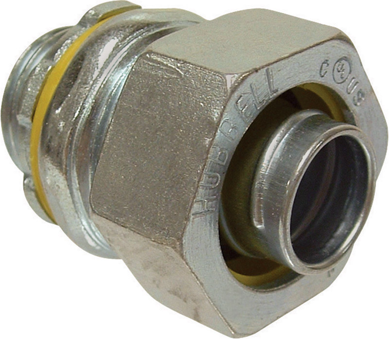 Raco  1/2 in. Dia. Malleable Iron/Steel  Electrical Conduit Connector  For Type B 15 each
