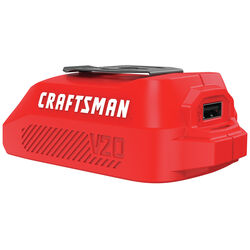 Craftsman V20 20 volt USB Power Source Adapter 1 pc.