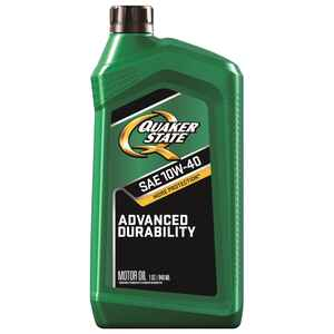Quaker State  Peak Performance  10W-40  4 Cycle Engine  Motor Oil  1 qt.