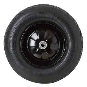 Ace  9 in. Dia. x 15 in. Dia. Centered  Wheelbarrow Tire  Rubber  1 pk
