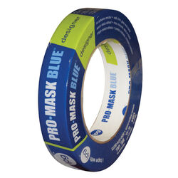 IPG  Pro-Mask  0.94 in. W x 60 yd. L Blue  Medium Strength  Masking Tape  1 pk