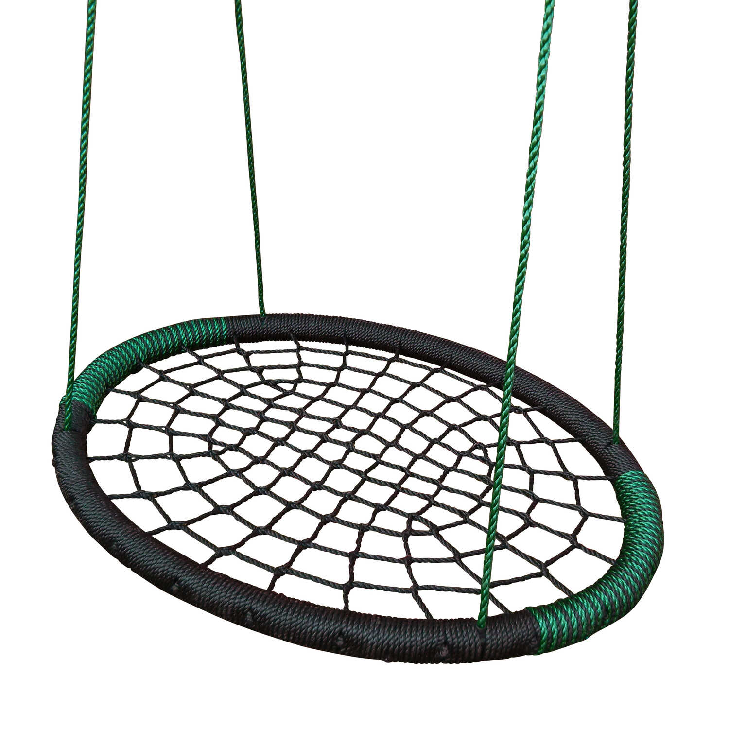 Swing-N-Slide  Web Design  Polypropylene  62-1/4 in. 33 in. 250 lb. 42 in. Kids Lawn Swing