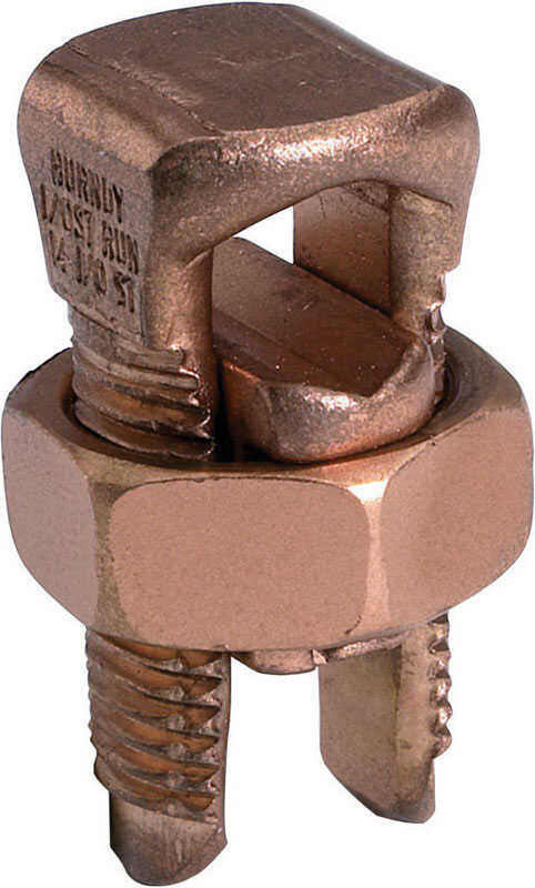 Burndy  Servit  Split Bolt  Split Bolt Connector  5 pk