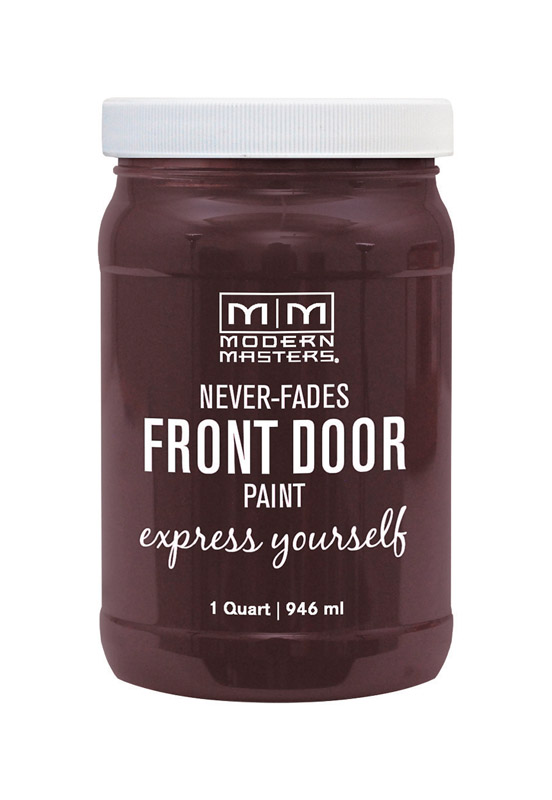 Modern Masters  Door Paint  Satin  Front Door Paint  Sincere  1 qt.
