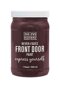 Modern Masters  Satin  1 qt. Sincere  Front Door Paint