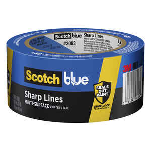 3M  Scotch Blue  1.88 in. W x 60 yd. L Medium Strength  Blue  1 pk Painter's Tape