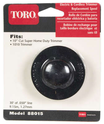 Toro 0.05 in. Dia. x 30 ft. L Replacement Line Trimmer Spool