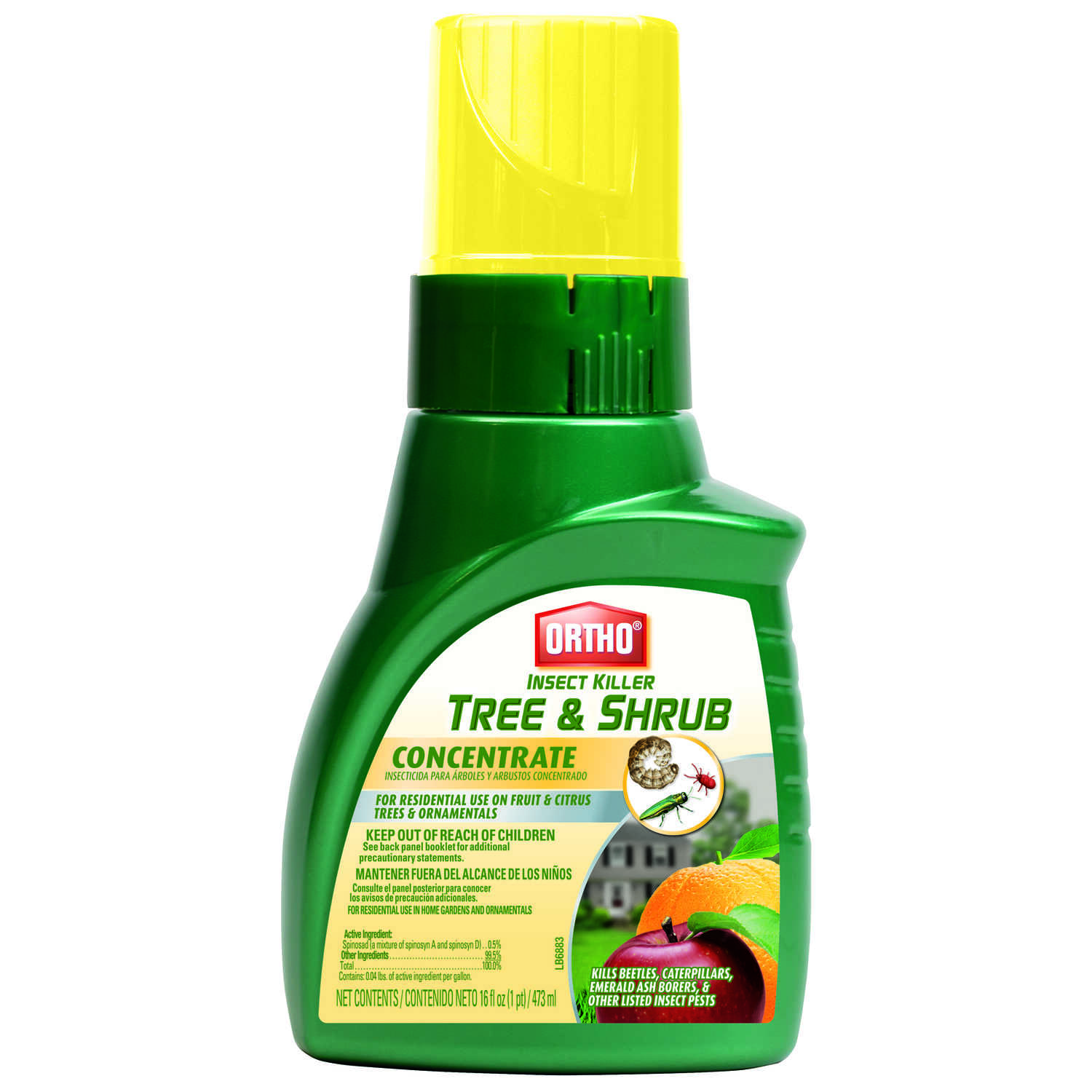 Ortho  Tree & Shrub  Insect Killer  16 oz.