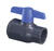 Spears  2-1/2 in. Slip   x 2-1/2 in. Dia. Slip  PVC  Utility Ball Valve