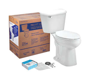 Mansfield  Alto Pro-Fit 3  Elongated  Complete Toilet  1.6 gal. ADA Compliant White