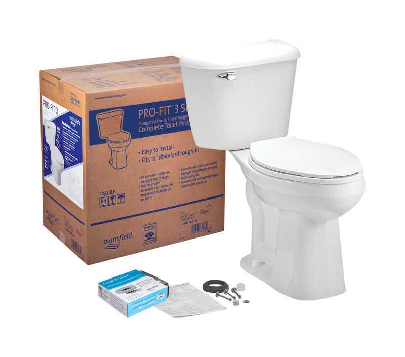 Mansfield Alto Pro Fit 3 Complete Toilet 1 6 Gal Ada