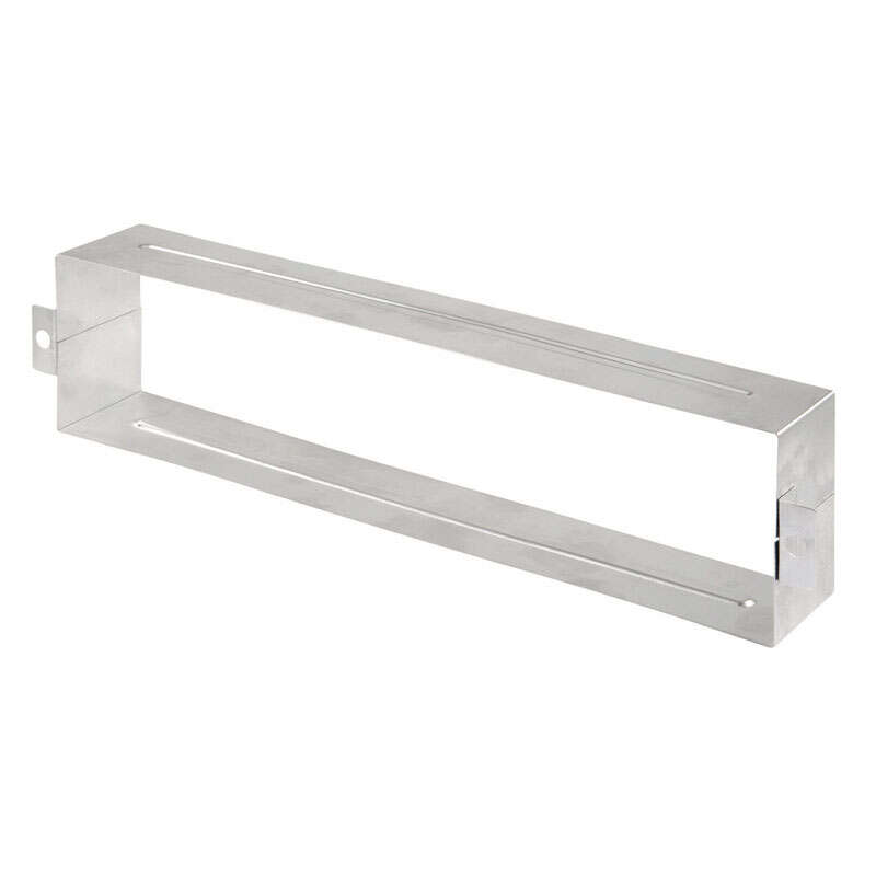 Prime-Line  Satin Nickel  Mail Slot Sleeve