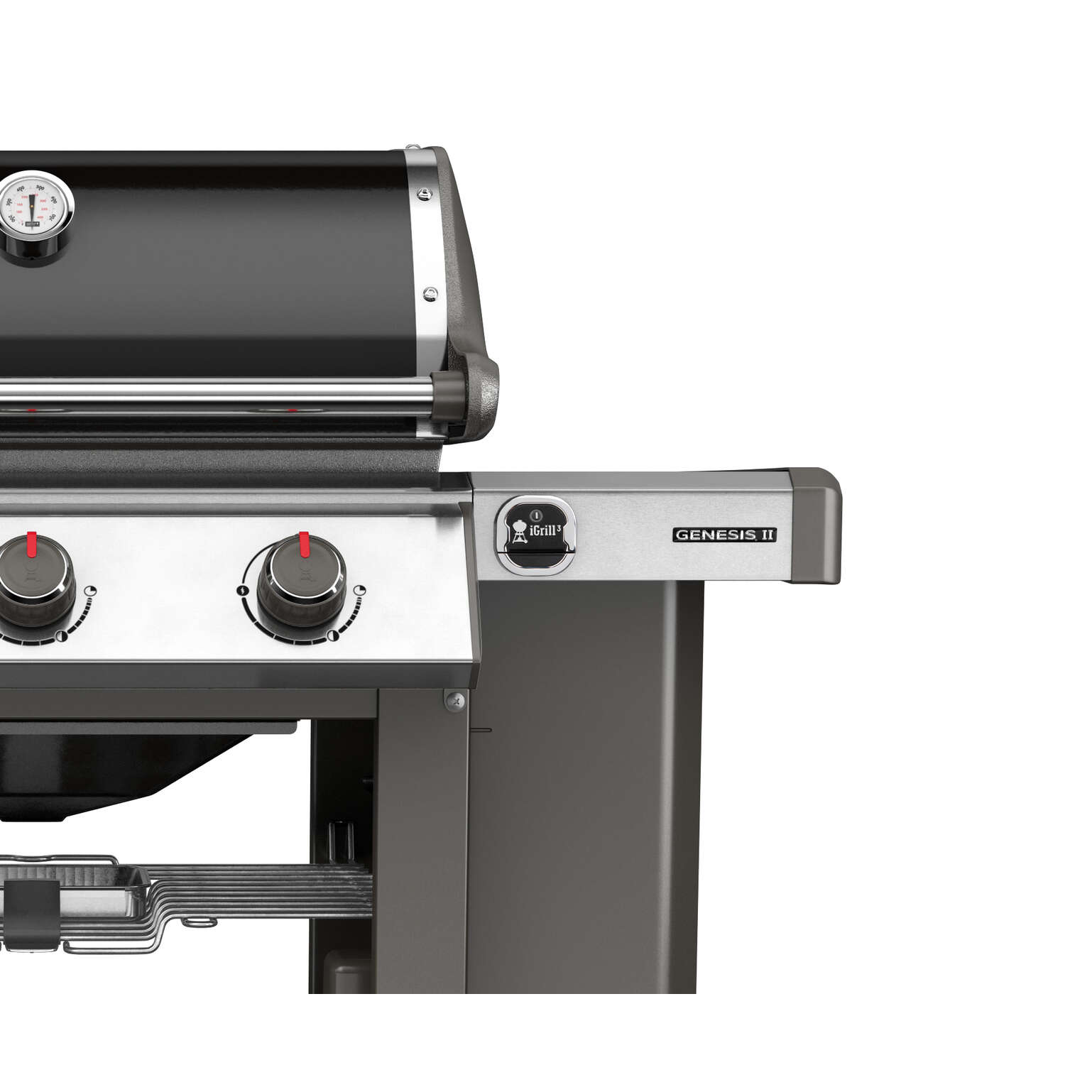 Weber  Genesis II E-610  6 burners Natural Gas  Black  Grill  60000 BTU