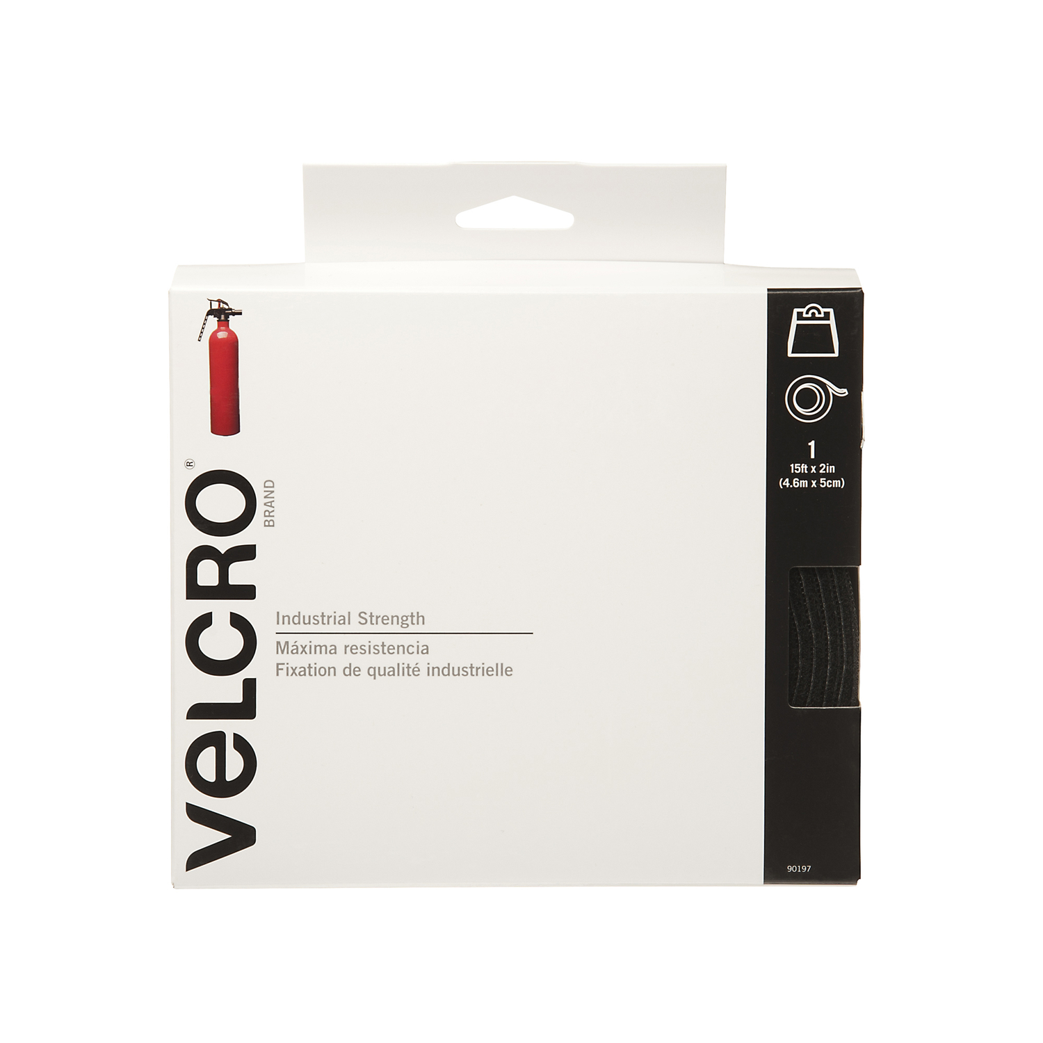 Velcro  Industrial Strength  1 pk Hook and Loop Fastener