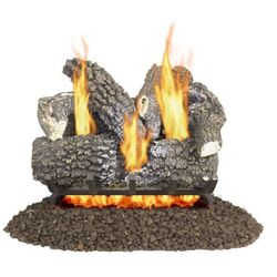 Pleasant Hearth Arlington Ash  Fireplace Log Set  45 lb.