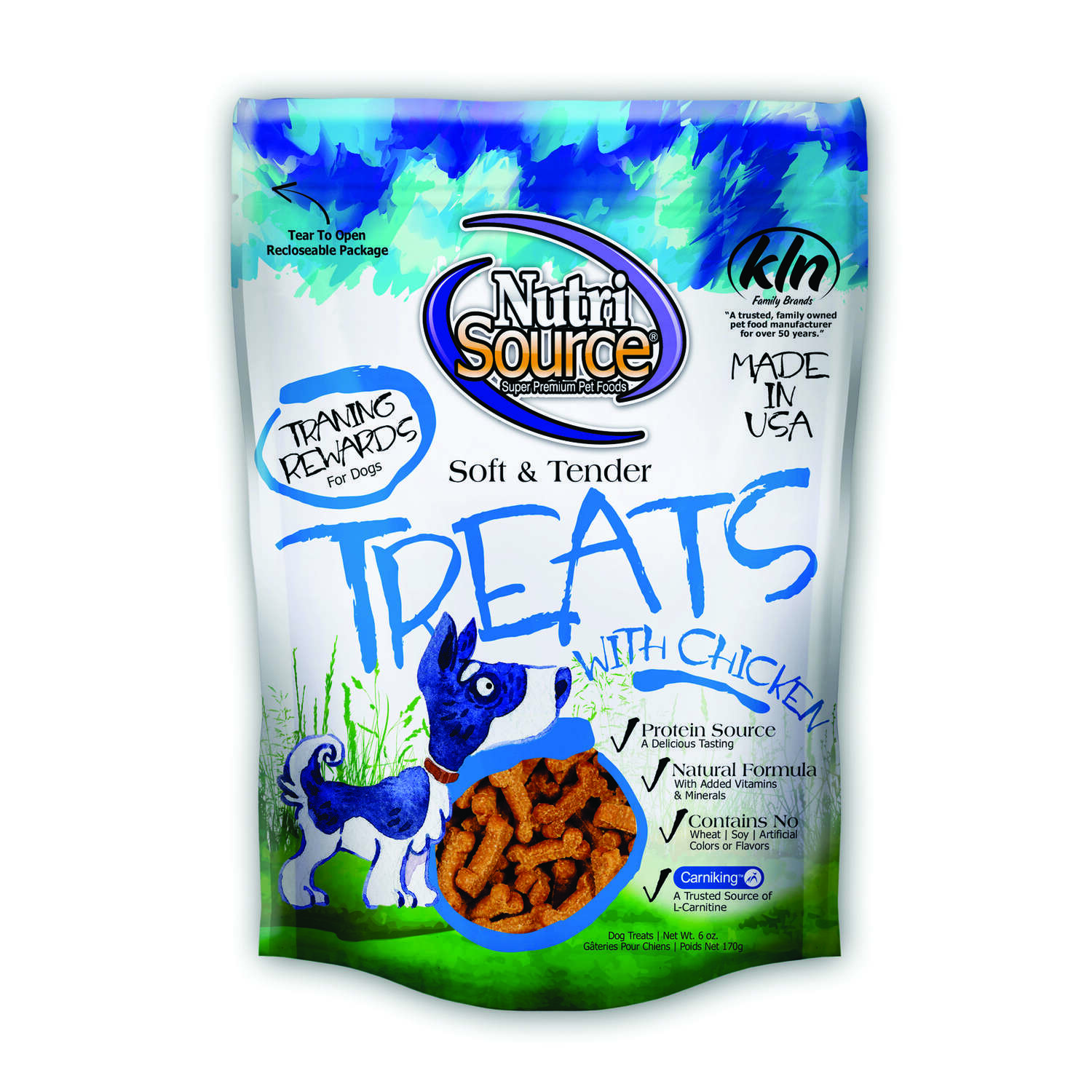 Nutri Source  Chicken  Treats  For Dogs 6 oz. 1 pk