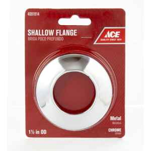 Ace  1-1/2 in. Metal  Shallow Flange