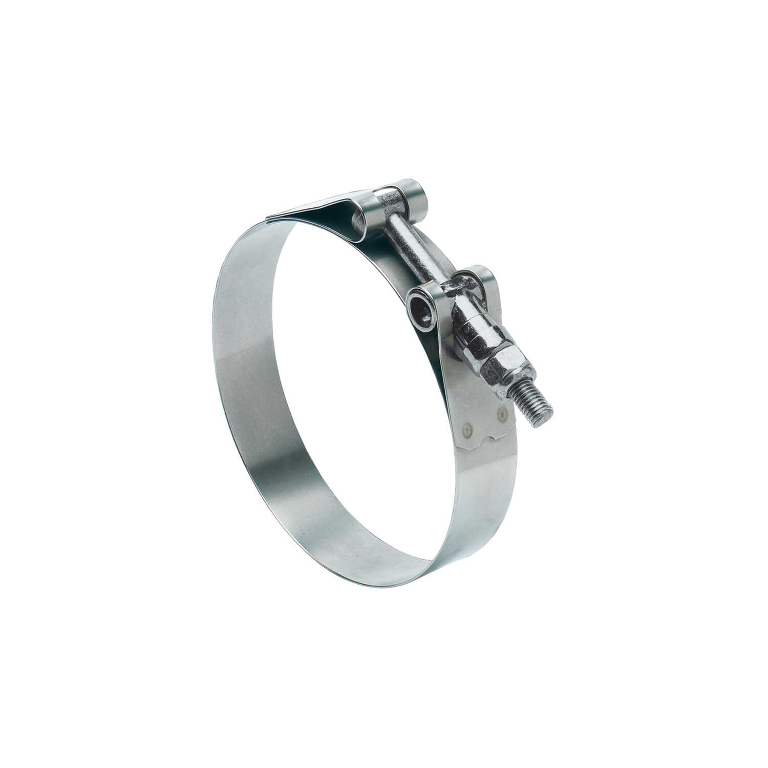 Ideal  Tridon  4-1/4 in. 4-9/16 in. SAE 425  Hose Clamp  Stainless Steel Band  T-Bolt