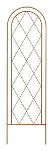 Panacea  84 in. H Brown  Steel  Trellis
