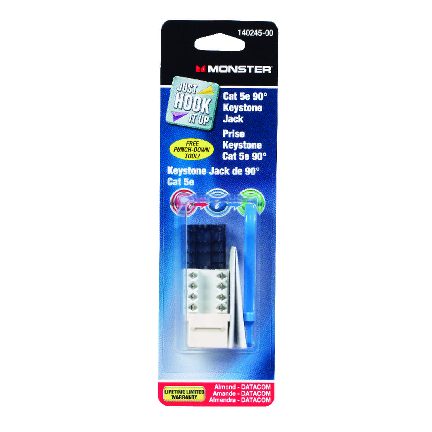 Monster Cable  Keystone Jack  1