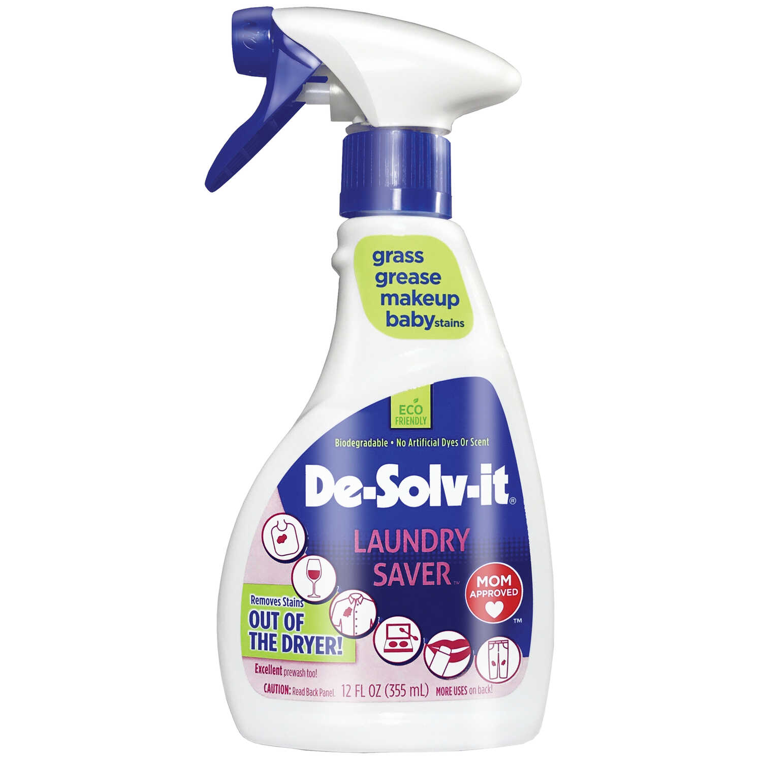 De-Solv-It  Plus  Stain Remover  12 OZ oz. Liquid  No Scent
