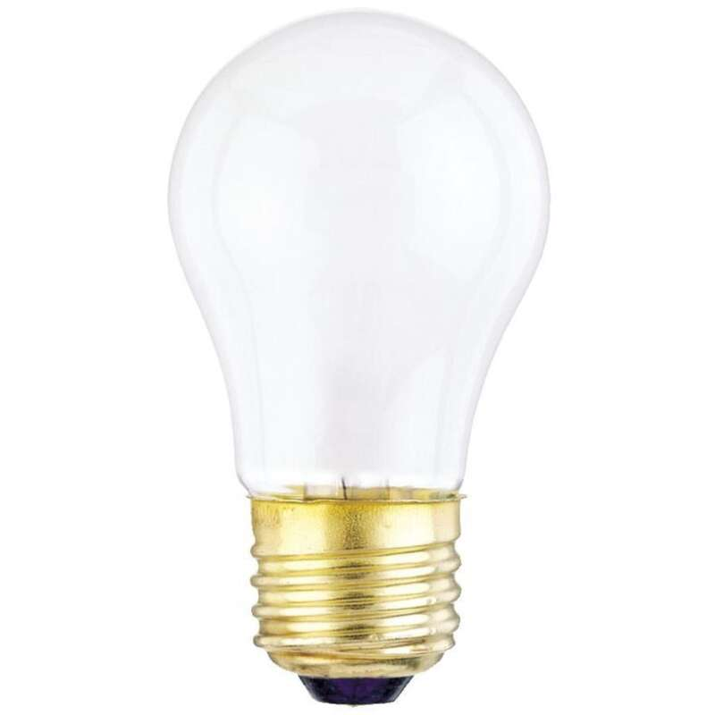 Westinghouse 15 watts A15 Appliance Incandescent Bulb E26 (Medium) 2 pk