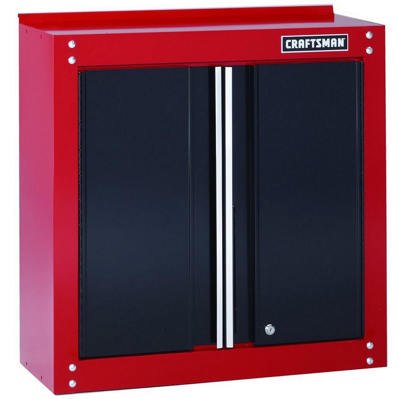 Craftsman 28 in. H x 28 in. W x 12 in. D Steel 2-Door Cabinet - Ace ...