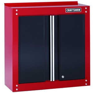 Craftsman  28 in. H x 28 in. W x 12 in. D Steel  2-Door Cabinet