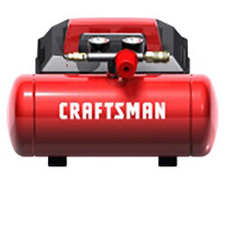 Craftsman 1.5 gal. Horizontal Portable Air Compressor 135 psi 0.75 hp