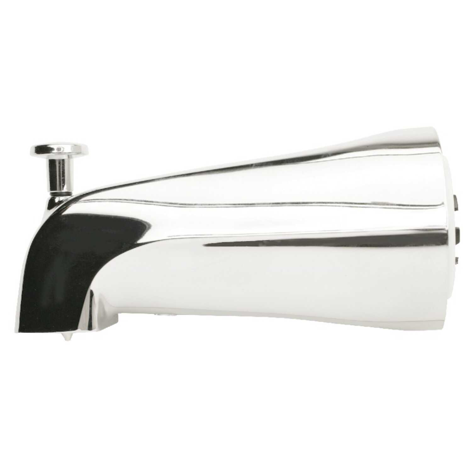 Plumb Pak  Bathtub Diverter Spout  1  N/A  Chrome Finish Metal Material
