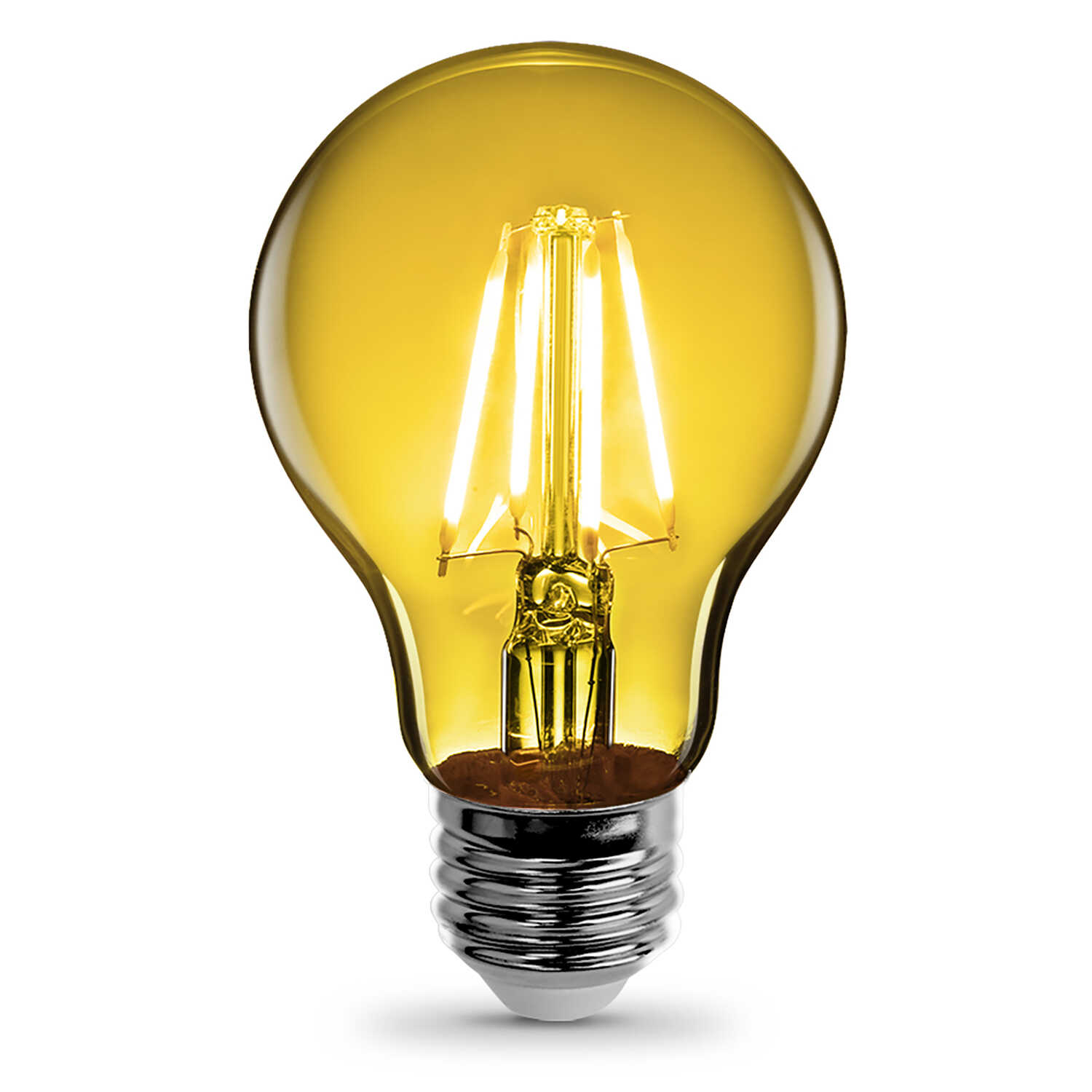 FEIT Electric  Filament  4.5 watts A19  LED Bulb  450 lumens 30 Watt Equivalence Yellow  A-Line
