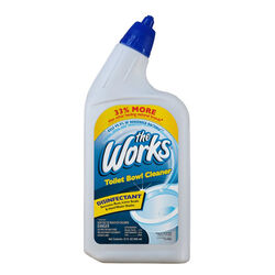 The Works  No Scent Toilet Bowl Cleaner  32 oz. Liquid