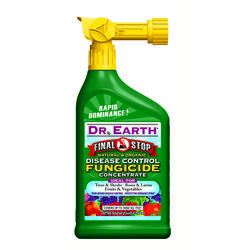 Dr. Earth  Final Stop  Organic Concentrated Liquid  Disease and Fungicide Control  32 oz.