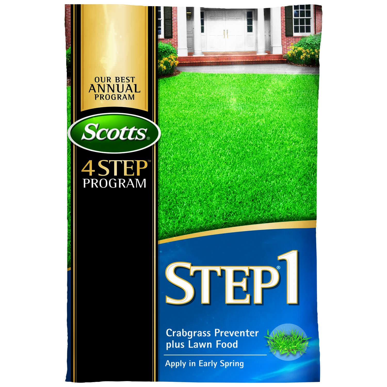 Scotts Step 1 28 0 7 Crabgrass Preventer With Fertilizer