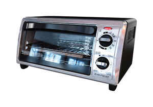 Black and Decker  Silver  Convection Toaster Oven  9.4 in. H x 12 in. W x 17.3 in. L
