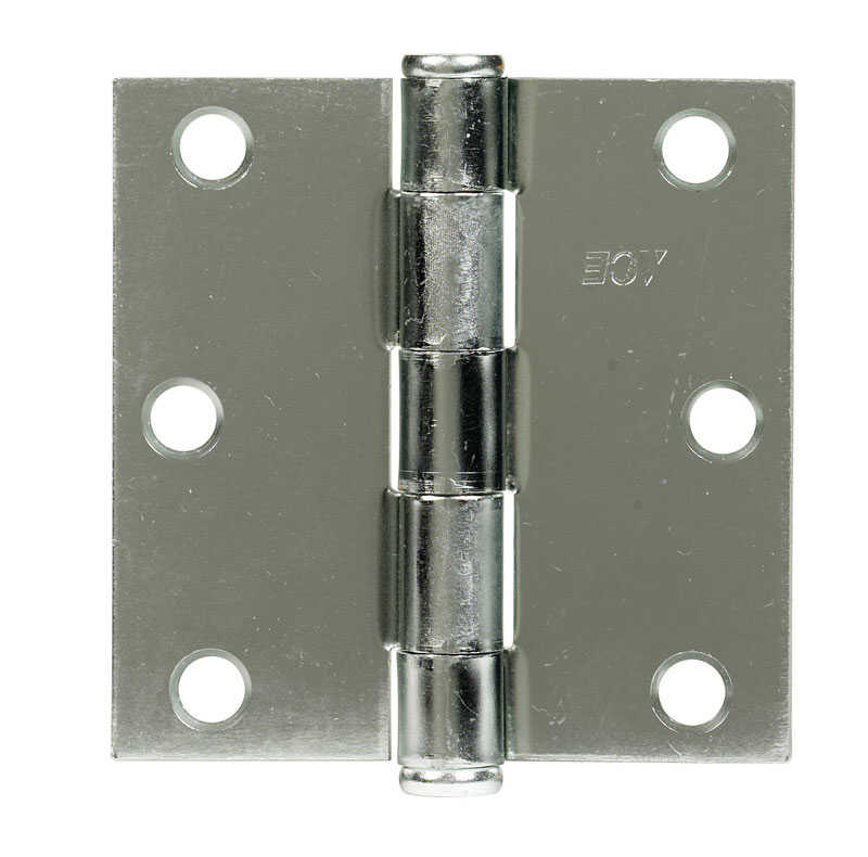 Ace  3 in. L Zinc-Plated  Steel  Broad Hinge  1 pk