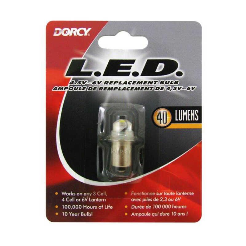 Dorcy Led Flashlight Bulb Bayonet Base 6 Volts 7 2 Ace
