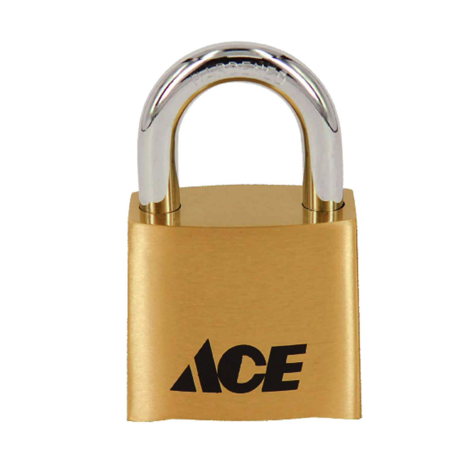 Ace  1-11/16 in. H x 1 in. W x 1-7/8 in. L Die Cast  4-Dial Combination  Padlock  1 pk