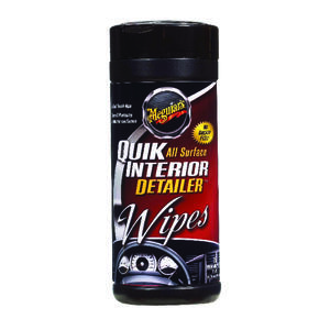 Meguiar's  Quik Interior  Multi-purpose  Cleaner  25 wipes Bottle
