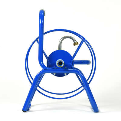 Yard Butler  75 ft. Free Standing  Blue  Hose Reel