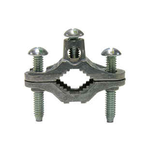 Gardner Bender  1/2 - 1 in. Bronze  Ground Clamp  1 pk