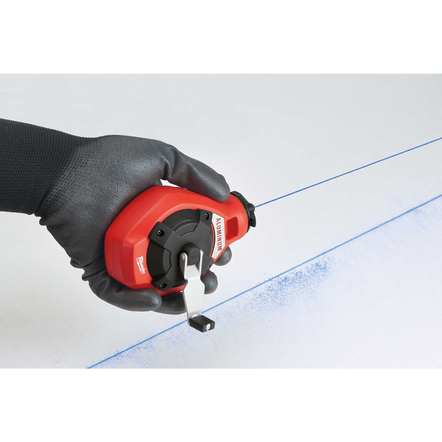 Milwaukee  Precision  Chalk Line Reel  100 ft. Fine Line