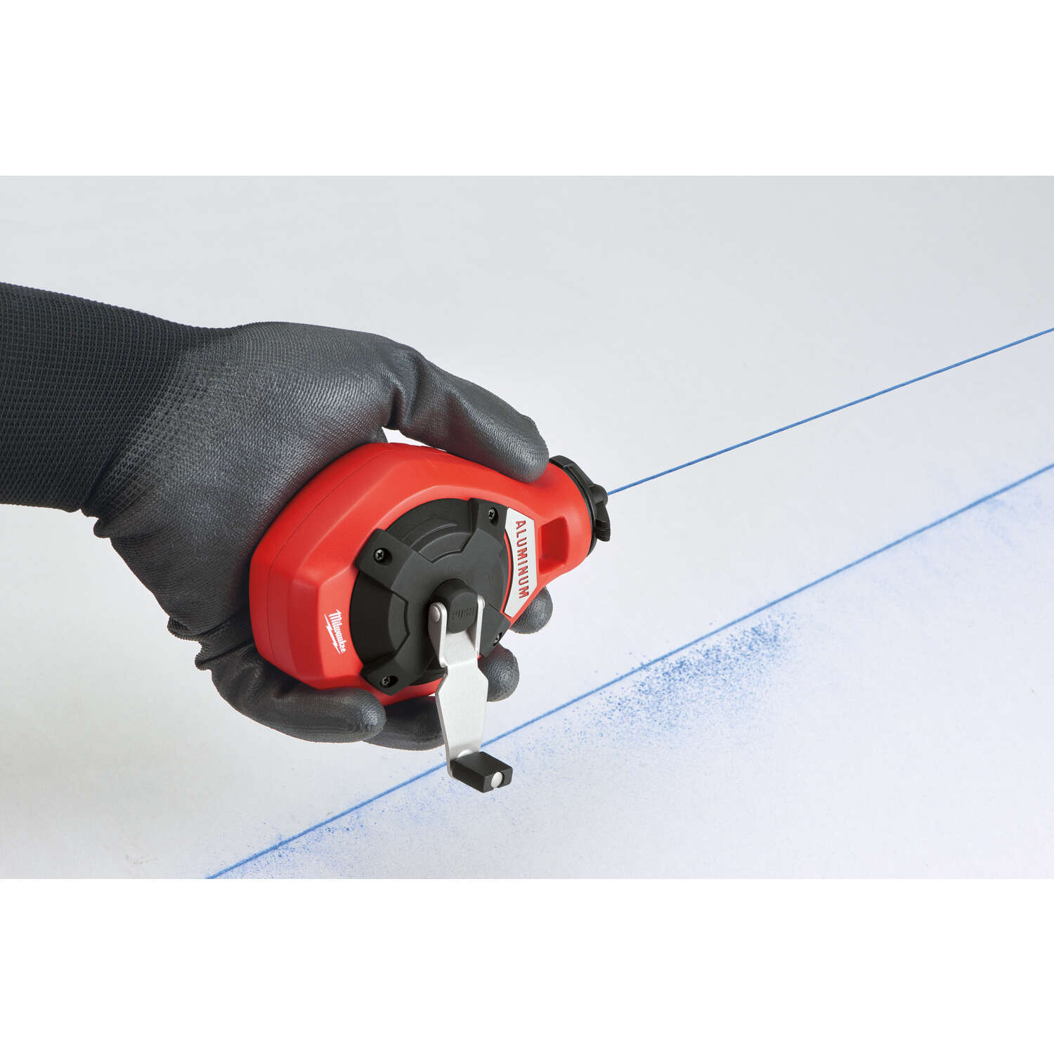 Milwaukee  Precision  Chalk Line Reel  Fine Line  100 ft.