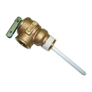 Reliance  3/4 in. Temperature and Pressure Relief Valve  Relief Valve