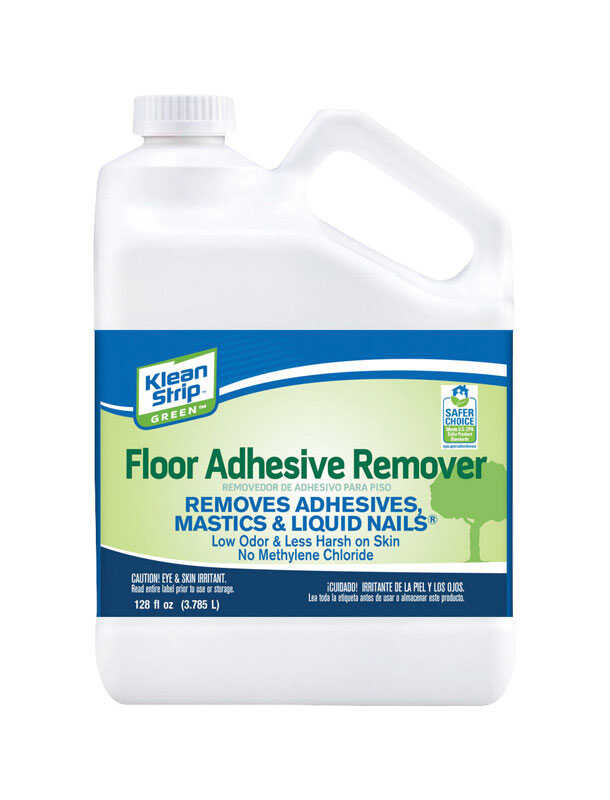 Klean strip green odorless liquid floor adhesive remover 1 - Klean strip adhesive remover lowes ...